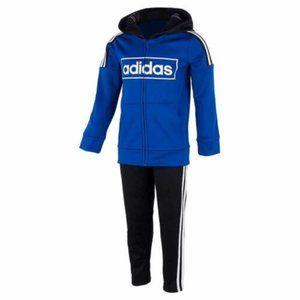 Adidas Boys Zip Hoodie and Pant Set
